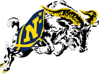 1945 Navy Midshipmen football team - Image: United State Naval Academy Logo sports