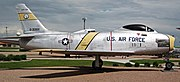 United States Air Force - F-86H Sabre (fighter plane) 5 (48095622638).jpg