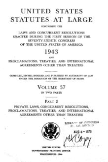 United States Statutes at Large Volume 57 Part 2.djvu