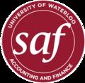 University of Waterloo School of Accounting & Finance Logo.png