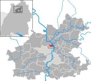 Untereisesheim - Image: Untereisesheim in HN