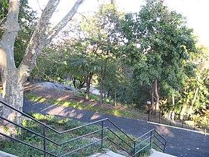 St. Nicholas Park - View from St. Nicholas Terrace