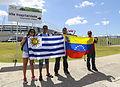 Uruguay - Costa Rica FIFA World Cup 2013 (2014-06-14; fans) 08.jpg