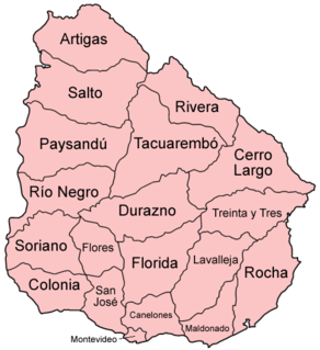 Departments of Uruguay administrative territorial entity of Uruguay