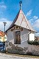 Völkermarkt St. Margarethen ob Töllerberg 2 Friedhofsmauer Bildstock 03012019 5832.jpg