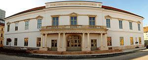 Székesfehérvár - Image: V. Zichy ház, később Magyar szálló (3831. számú műemlék)