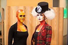 VFS Makeup Design Students display Halloween makeup on Urban Rush.jpg
