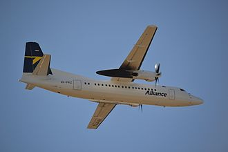 Alliance Airlines - Alliance Airlines Fokker 50