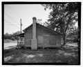 VIEW OF SIDE LOOKING EAST - 815 Long Bewick Street (House), Waycross, Ware County, GA HABS GA-2228-3.tif