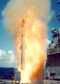Launch of a Vertical Launch ASROC