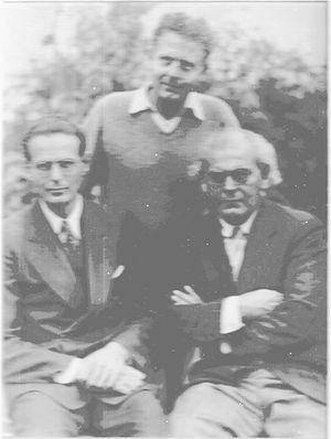 Mischa Portnoff - Mischa (standing), Wesley, and Leo
