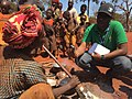 VOA Reporter Eddie Rwema visits Nyarugusu Refugee Camp in Tanzania.jpg