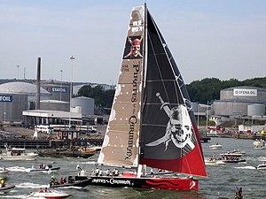 2005–06 Volvo Ocean Race - Pirates wins the final leg