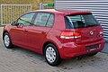 VW Golf VI 1.4 TSI Comfortline Amaryllisrot Heck.JPG