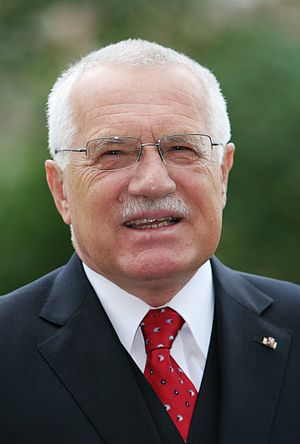 Czech legislative election, 1998 - Image: Vaclav Klaus headshot