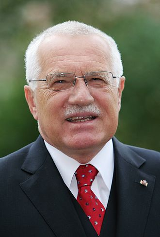 2003 Czech presidential election - Image: Vaclav Klaus headshot