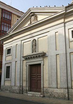 Real monasterio de san joaqu n y santa ana wikipedia la - Santa ana valladolid ...