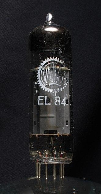 EL84 - Image: Valvo EL84