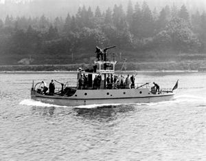 Fireboats of Vancouver - Image: Vancouver fireboat J.H Carlisle in 1928