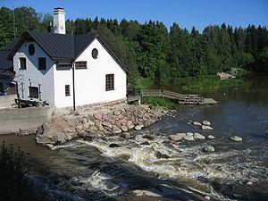 Vantaa - Rapids of river Vantaa