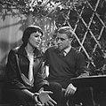 Vara televisieserie Bijna Twintig. Eenakter ºToen ik bijna twintig was¨van J.G. Toonder. Kitty Courbois en Jurg Molenaar, Bestanddeelnr 912-2044.jpg