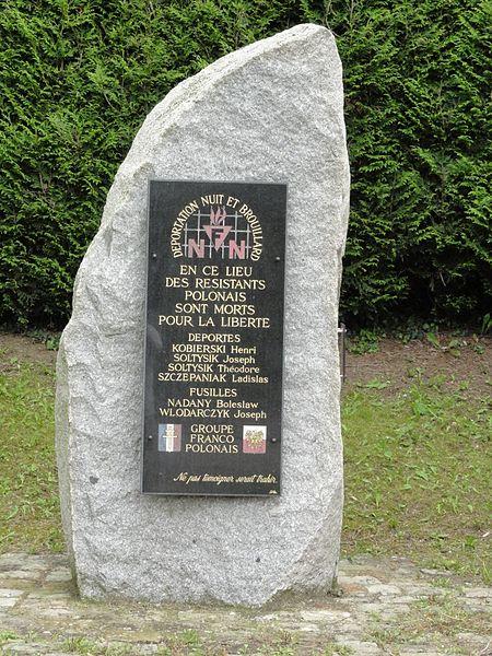 Varangéville (M-et-M) mémorial polonais