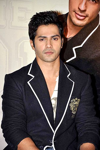 Varun Dhawan - Dhawan at the trailer launch of Student of the Year in 2012
