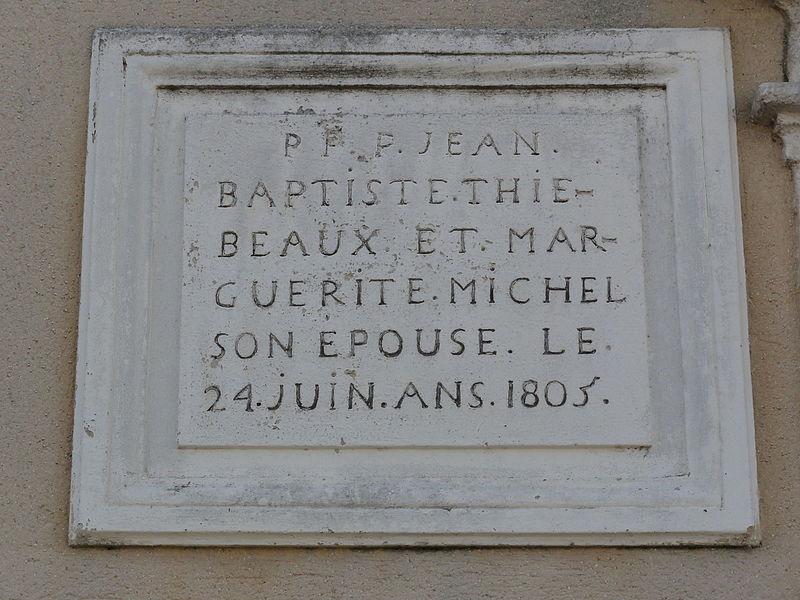 Vaudoncourt (Meuse) pierre façade maison