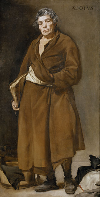 Fable - Image: Velázquez Esopo (Museo del Prado, 1639 41)