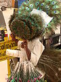 Vendor of Peacock Feather Fans - Thrissur - India.JPG