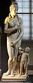 Venere e amore, variazione del tipo pudico da prassitele (310-300 ac ca.), opera romana con testa non pertinente, 130-150 ca. (uffizi).JPG