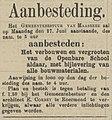 Venloosch Weekblad vol 030 no 026 Aanbesteding verbouwing openbare school Maasbree.jpg