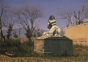 "Tacheng - ""Ruins in Chuguchak"" by Vasily Vereshchagin (1869)"