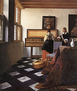 Vermeer's The Music Lesson
