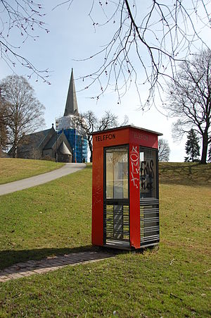 Scandinavian design - Telephone Kiosk by Georg Fredrik Fasting, Norway