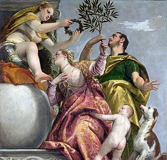 The Allegory of Love (Veronese) - Image: Veronese Allegory of love Happy union