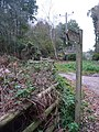Verwood, bridleway signpost in Coopers Lane - geograph.org.uk - 1573095.jpg