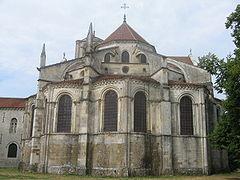 Basilique sainte marie madeleine de v zelay wikip dia - Chevet architectuur ...