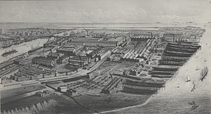 Vickers - Image: Vickers, Sons & Maxim's Naval Construction Works (ca. 1900)