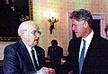 Victor Reuther and President Clinton, The White House, 1995 (cropped).jpg