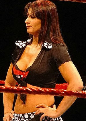 Lisa Marie Varon - Victoria during a WWE house show in 2006