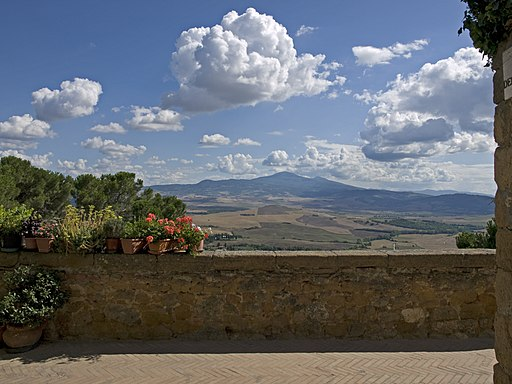 View from Belvedere Pienza