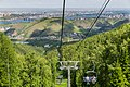 View of Krasnoyarsk from Chairlift K1 of Fun Park «Bobrovy Log» 4Y1A8782 (27747019844).jpg