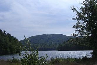 Geology of Massachusetts - Mount Wachusett, which is part of the Gondwanan terrane