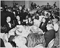 View of table at the dinner honoring President Truman and Vice President Barkley at the Mayflower Hotel in... - NARA - 200007.jpg