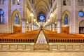 View of the Nave from the Sanctuary, Sacred Heart Cathedral, Newark.jpg