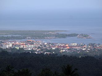 Zamboanga Peninsula - Image: View over Pagadian City panoramio