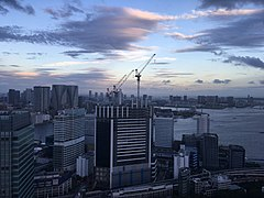 View to the east from the World Trade Center in Tokyo (2).jpg
