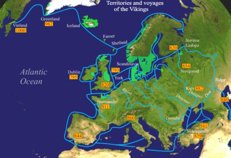 época Vikinga Wikipedia La Enciclopedia Libre