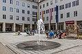 Villach Innenstadt Rathausplatz 1 Rathaus und Stadtkino NW-Ansicht 23042021 0853.jpg